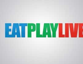 vw8256273vw tarafından Design a Logo for EAT.PLAY.LIVE için no 10