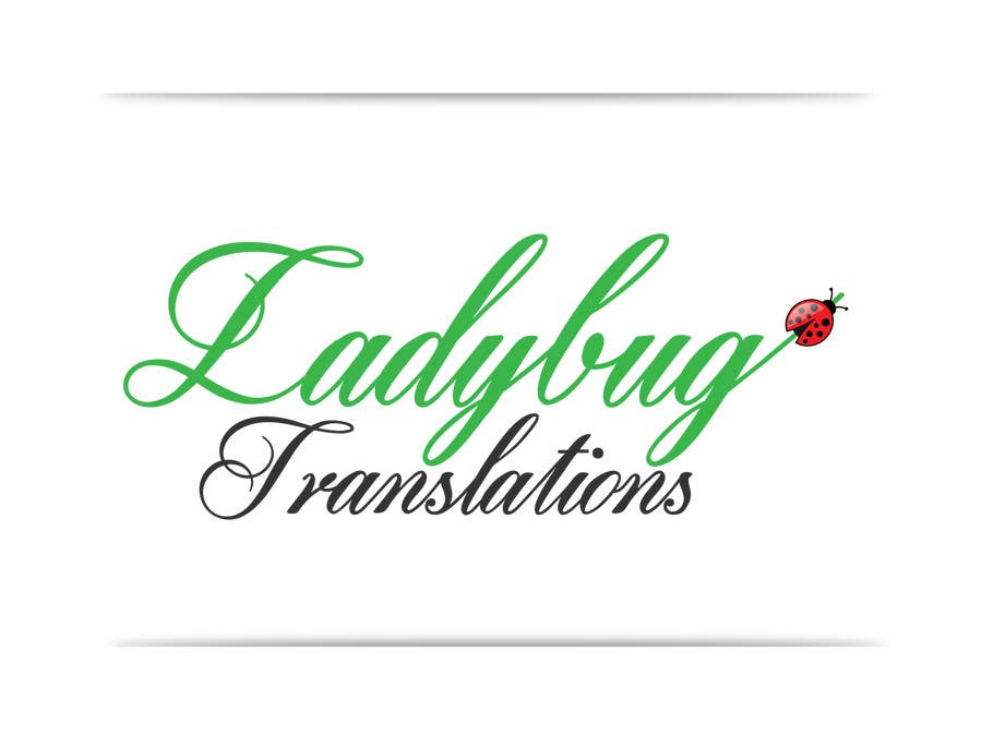 Entry #14 by georgeecstazy for Ladybug Translations needs Logo ...