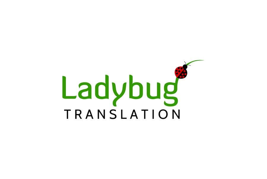 Entry #33 by elena13vw for Ladybug Translations needs Logo, Business ...
