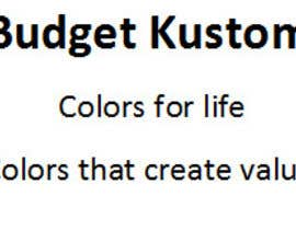 #57 untuk Slogan/tag line for Budget Kustom Sticker & Signs oleh kamaliaakash