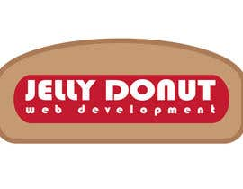 "#25 untuk Design a Logo for web development company called  ""Jelly Donut"" oleh katoubeaudoin"