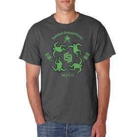 ezaz09 tarafından Design a T-Shirt for Company BBQ için no 35