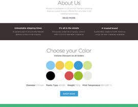 #23 untuk Design a Stunning Website PSD oleh styleworksstudio