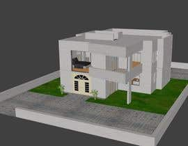 #31 untuk Redesign my house and render with a modern flat roof with parapet wall oleh atuldutta