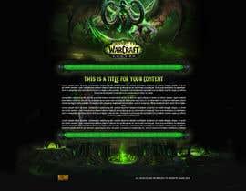 arispapapro tarafından World of Warcraft: Legion - I need a website with 1 center DIV + Matching CSS için no 3