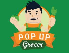 #67 untuk Pop-up  Grocer logo oleh dighie31
