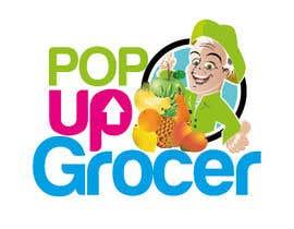 #113 untuk Pop-up  Grocer logo oleh mithusajjad