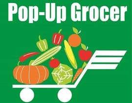 #305 untuk Pop-up  Grocer logo oleh IvanGeophysic