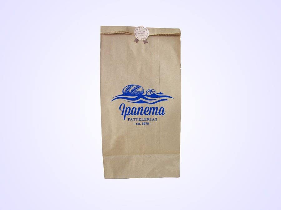 #26 for logo design for traditional bakery IPANEMA by Moodpecker