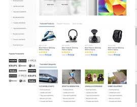 infofixs tarafından Design a Website Mockup  Aggregated ecommerce site için no 3