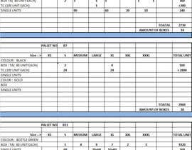 #21 for Fill in a Spreadsheet with Data for Stock List NEEDED IN 6-12 HOURS by raviojha86