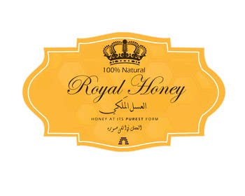 RainMQ tarafından Packaging design for Royal Honey için no 5
