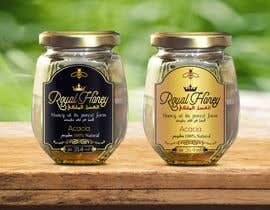 Med7008 tarafından Packaging design for Royal Honey için no 13