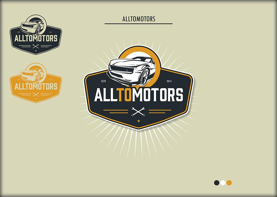 #53 for Design a Logo for ALLTOMOTORS by roman230005