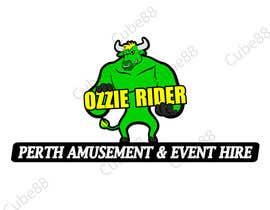 Cube88 tarafından Design a Logo for Ozzie Rider Perth Amusement & Event Hire için no 18