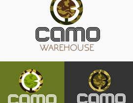 #70 untuk Design a Logo for Camo Warehouse oleh anandroshan