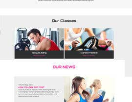 #4 untuk Design and build a homepage for fitness website & forum oleh pankajmahato94
