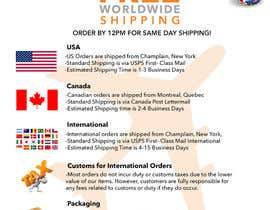 #5 for Simple Design of Shipping Page for StrapsCo.com by Bhubs21