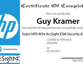 #17 untuk I need a certificate designing for an exam - EASY oleh LucianCreative