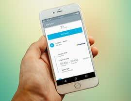 #3 untuk Design an App Mockup for pulsemytrip.com oleh higginscr2