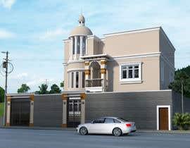 ars001 tarafından Villa Exterior Design (3D rendering) için no 16