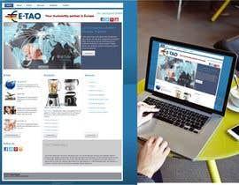 #7 untuk Design a Joomla Website Mockup for www.e-tao.eu oleh omartinez2953