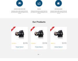 #11 untuk Design a Joomla Website Mockup for www.e-tao.eu oleh phamtech211
