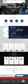 #12 untuk Design a Joomla Website Mockup for www.e-tao.eu oleh ankisethiya