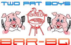 Penyertaan Peraduan #31 untuk Design a Logo for  2 Fat Boys bbq foodtruck