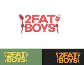 #23 untuk Design a Logo for  2 Fat Boys bbq foodtruck oleh abdulrahman053