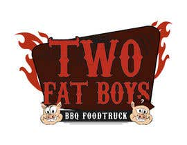 #26 untuk Design a Logo for  2 Fat Boys bbq foodtruck oleh GirottiGabriel