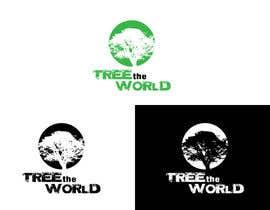 "dariuszratajczak tarafından Design a Logo for ""Tree the World"" için no 121"