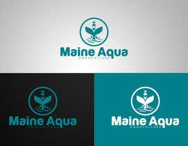 eddesignswork tarafından Design a Logo for Maine Aqua için no 560