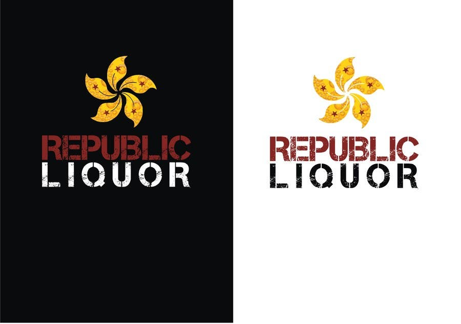 #217 for Design a Logo for republic liquor by DYNAMICWINGS