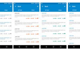 #23 untuk Design one page for Android app oleh assamite