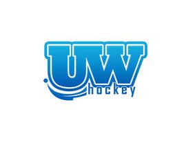 #107 untuk Design a logo for uw-hockey website oleh jeponkz