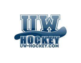 #88 para Design a logo for uw-hockey website por rownike