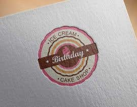 #53 untuk Design a Logo for  ice cream birthday cake shop oleh KnowledgeShine
