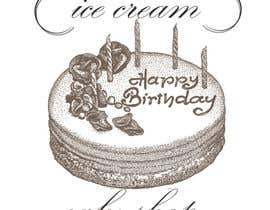 #60 untuk Design a Logo for  ice cream birthday cake shop oleh andjelkons