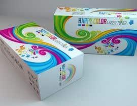 #25 untuk Create Print and Packaging Designs for HAPPY COLOR Printer toner box oleh Med7008