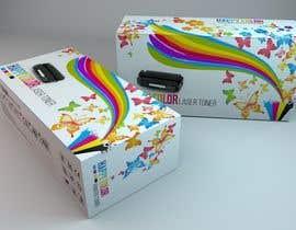 #27 untuk Create Print and Packaging Designs for HAPPY COLOR Printer toner box oleh Med7008