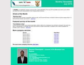 #4 untuk Design a HTML newsletter oleh artur99