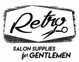#16 untuk Design a Logo for a  gents beauty salon and a company which sells salon supplies oleh katvphillips