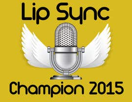 grozdancho tarafından Designing faceplate and two side plates for lip sync championship belt için no 1