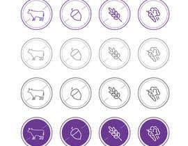 Cougarsan tarafından Design some Icons for my existing brand için no 12