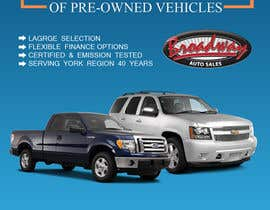 worksuchit tarafından Design an Advertisement for Car Dealership için no 8