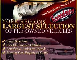 #11 untuk Design an Advertisement for Car Dealership oleh fantis77