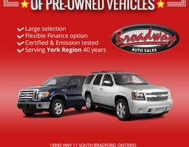 sumitrz tarafından Design an Advertisement for Car Dealership için no 14