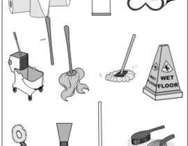 #10 untuk Illustrate Something for Restroom Cleaning TRAINING manual oleh viango