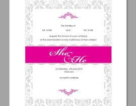 adripoveda tarafından Design some Wedding Invitations için no 10